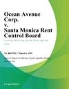 301 Ocean Avenue Corp V Santa Monica Rent Control Board