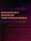 Elementary Chemical Thermodynamics