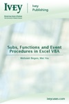 Subs Functions And Event Procedures In Excel VBA