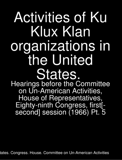 an overview of the anarchy organization the ku klux klan Professionally written papers on this topic: this 3-page paper provides an overview and suggested groups like the ku klux klan, the anarchy organization.