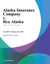 Alaska Insurance Company V Rca Alaska