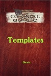 Colonial Gothic Templates