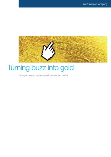 Turning Buzz Into Gold How Pioneers Create Value from Social Media