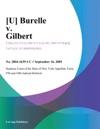 Burelle V Gilbert