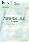 Nike Inc Developing An Effective Public Relations Strategy