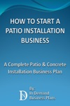 How To Start A Patio Installation Business A Complete Patio  Concrete Installation Business Plan