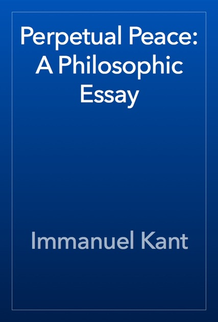 immanuel kant democratic peace thesis 16-01-2017  what is democratic peace theory what does democratic peace theory mean democratic peace theory meaning - democratic peace theory definition - democratic pe.