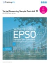 01 Verbal Reasoning Sample Tests - EU EPSO Tests Series