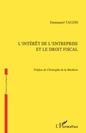 LINTéRêT DE LENTREPRISE ET LE DROIT FISCAL