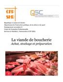La viande de boucherie - Achat, stockage et préparation