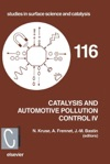Catalysis And Automotive Pollution Control IV Enhanced Edition