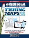 Northern Indiana Fishing Maps Guide Book