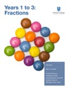 Years 1 To 3 Fractions
