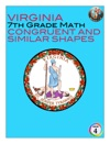 Virginia 7th Grade Math - Congruent And Similar Shapes