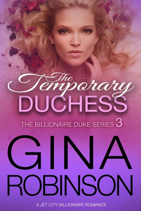 The Temporary Duchess Gina Robinson Book