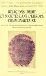 Religions Droit Et Socits Dans LEurope Communautaire
