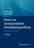 Prozess zur Lösung komplexer Entscheidungsprobleme