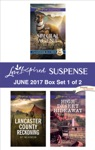 Harlequin Love Inspired Suspense June 2017 - Box Set 1 Of 2