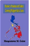 Reviewer In Procedure And Evidence Governing Philippine Sharia Courts