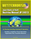 Antiterrorism Joint Chiefs Of Staff Doctrine Manual JP 3-072 For Planning Executing Assessing AT Operations Checklists Installation Threat Information Organization Plan Preventive Measures