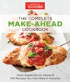 The Complete Make-Ahead Cookbook