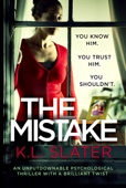 K.L. Slater - The Mistake artwork