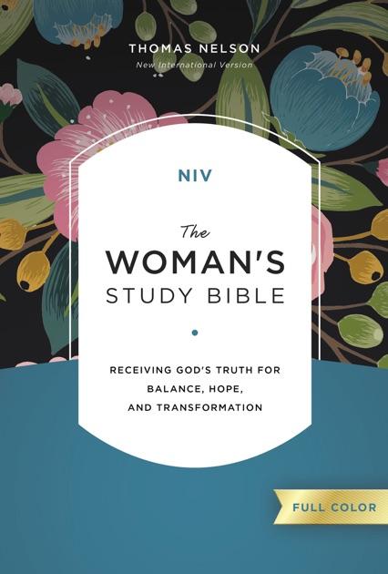 NIV, The Woman's Study Bible, Hardcover (Signature ...