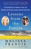 Lessons from the Prairie - Melissa Francis Cover Art