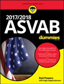 2017 / 2018 ASVAB For Dummies - Rod Powers & Angie Papple Johnston Cover Art