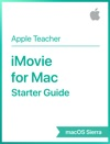IMovie For Mac Starter Guide MacOS Sierra