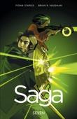 Saga Vol. 7 - Brian K. Vaughan & Fiona Staples Cover Art