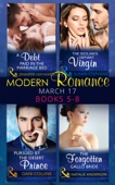 Jennifer Hayward, Susan Stephens, Dani Collins & Natalie Anderson - Modern Romance March 2017 Books 5 -8 bild