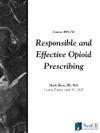 Responsible And Effective Opioid Prescribing