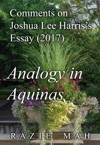 Comments On Joshua Lee Harriss Essay 2017 Analogy In Aquinas
