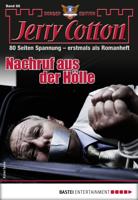 Jerry Cotton - Jerry Cotton Sonder-Edition 66 - Krimi-Serie artwork