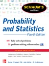 Schaums Outline Of Probability And Statistics 4th Edition