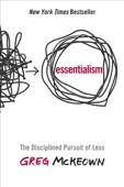 Essentialism - Greg Mckeown Cover Art