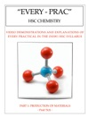 Every Prac HSC Chemistry