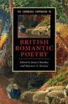 The Cambridge Companion To British Romantic Poetry