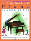 Alfreds Basic Piano Course Lesson 1A Universal Edition