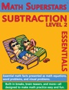 Math Superstars Subtraction Level 2 Helps Children Learn To Subtract
