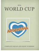 Argentina World Cup 2014 Squad