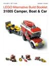 LEGO Alternative Build Booklet 31005 Camper Boat  Car
