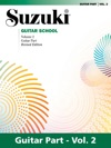 Suzuki Guitar School - Volume 2 Revised