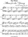 Witch Album For The Young Opus 39 Number 20 Easy Piano Sheet Music Pdf