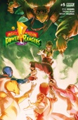 Mighty Morphin Power Rangers #5 - Kyle Higgins & Thony Silas Cover Art