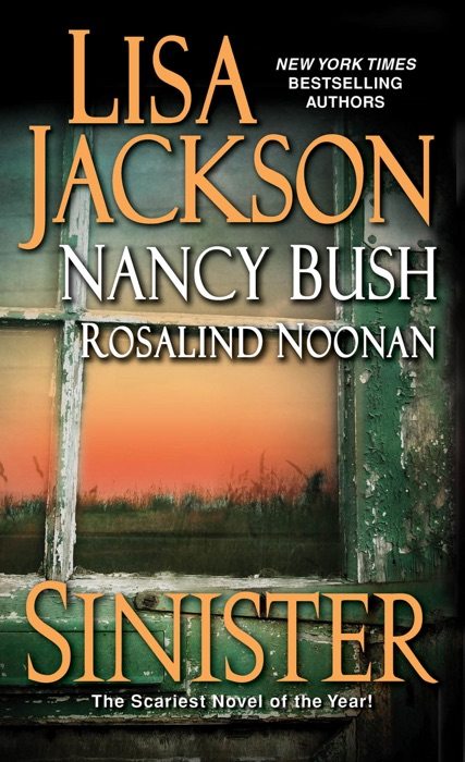 Sinister Lisa Jackson Nancy Bush  Rosalind Noonan Book