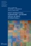 Droit International Humanitaire  Un Rgime Spcial De Droit International