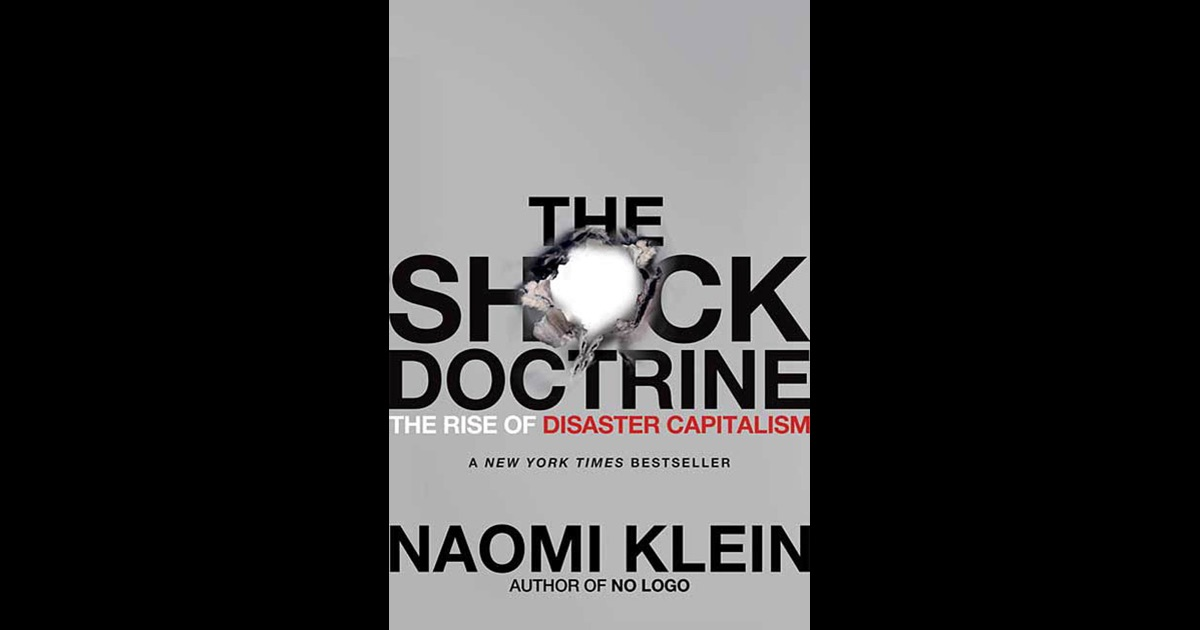 naomi klein the shock doctrine pdf