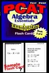 PCAT Test Prep Algebra Review--Exambusters Flash Cards--Workbook 2 Of 4